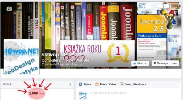 2000 fanów na Facebooku