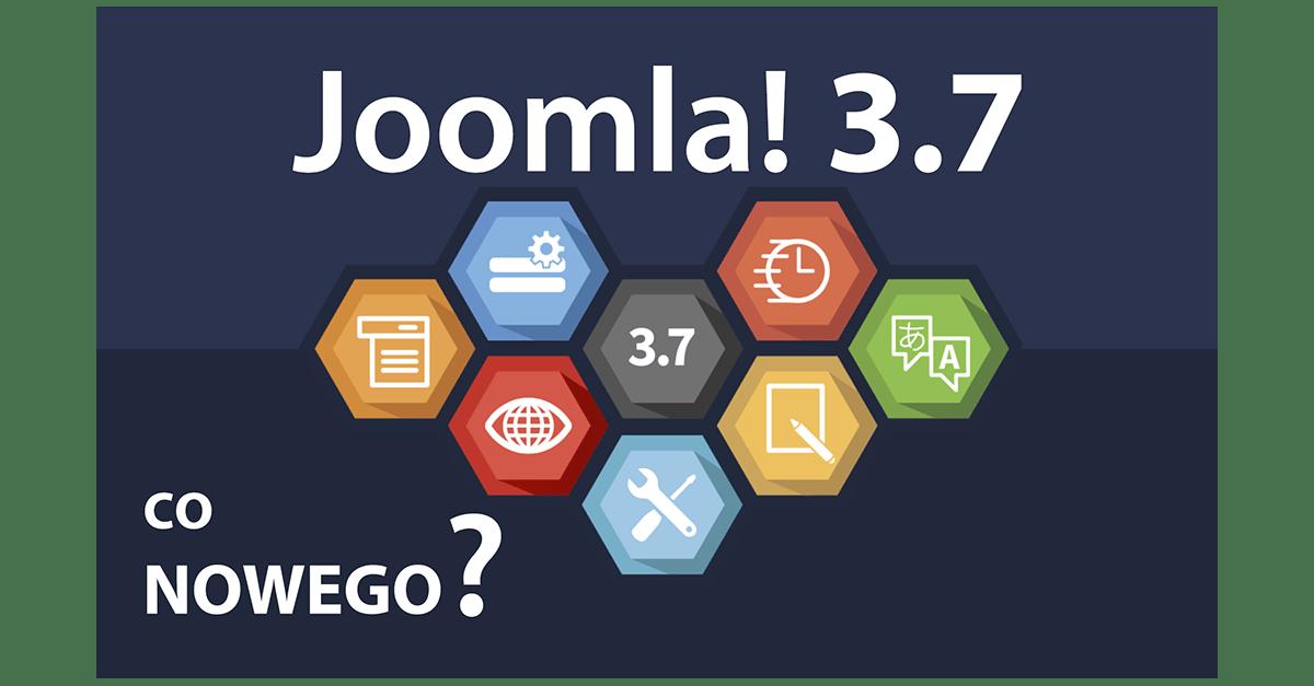 Co nowego w Joomla! 3.7?