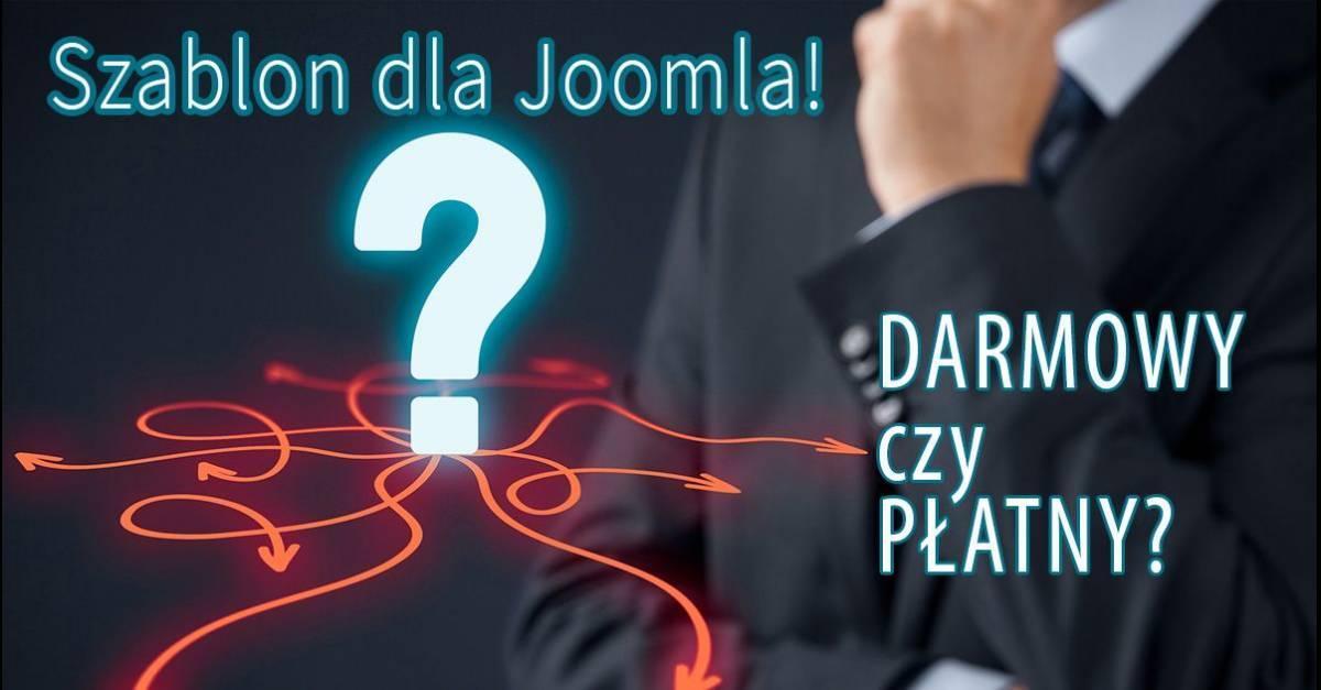 Szablon dla Joomla! - darmowy, czy płatny?