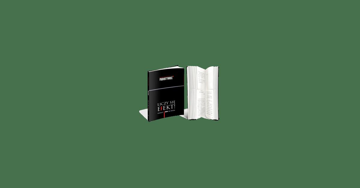 Liczy się efekt! Pierwszy 2book na świecie