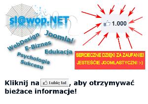 1000 FANÓW na Facebooku!