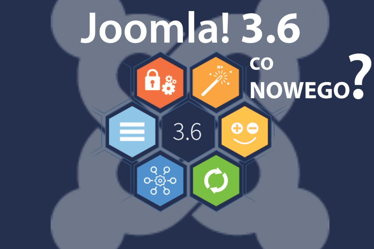 Co nowego w Joomla! 3.6?