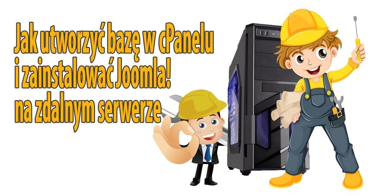 Tworzenie bazy danych w CPanelu na Smarthost - instalacja Joomla!