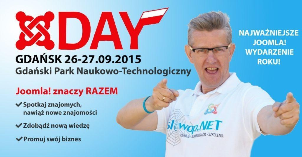 JoomlaDay! Poland 2015 - musisz tam być!