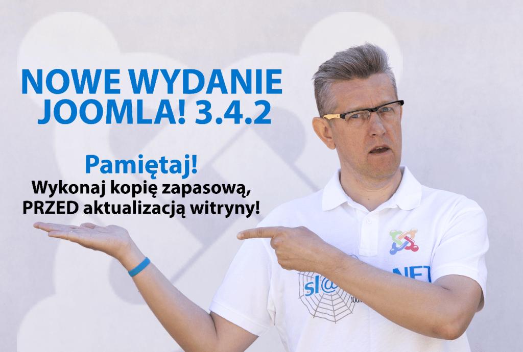 Nowe wydanie Joomla! 3.4.2