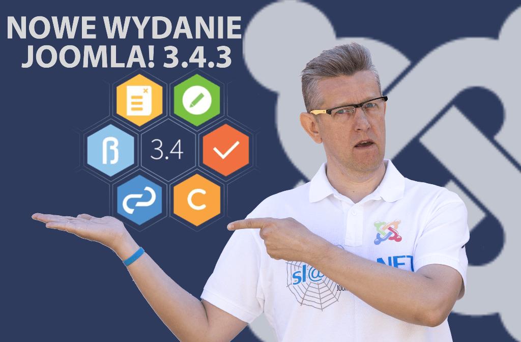 Kolejne wydanie Joomla! 3.4.3