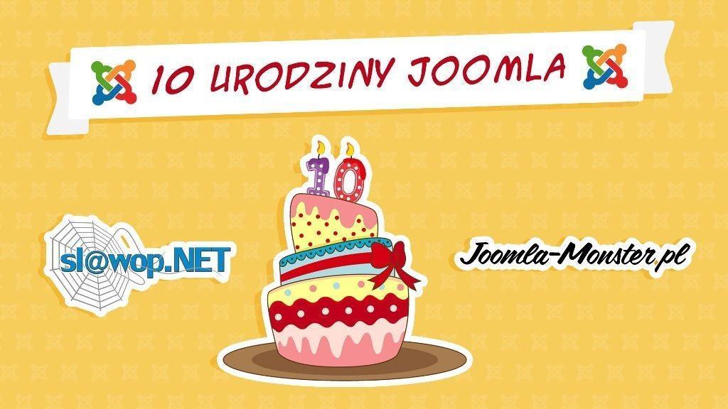 Świętujemy 10 urodziny Joomla!