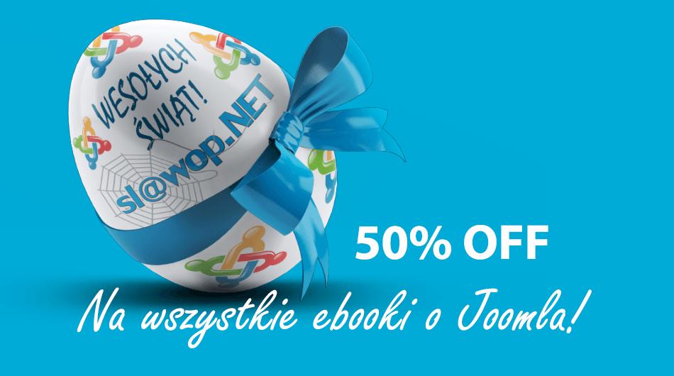 Wielkanocna promocja na wszystkie e-booki