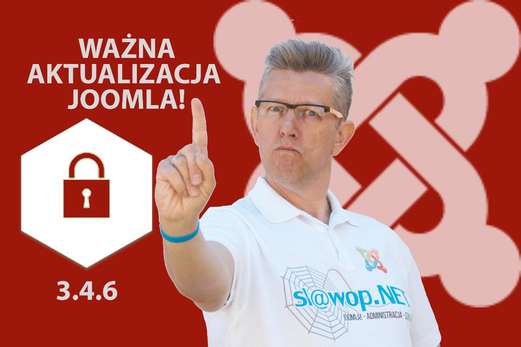 Ważna poprawka bezpieczeństwa Joomla! 3.4.6